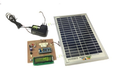 Solar Power Measurement System Using ARM Cortex