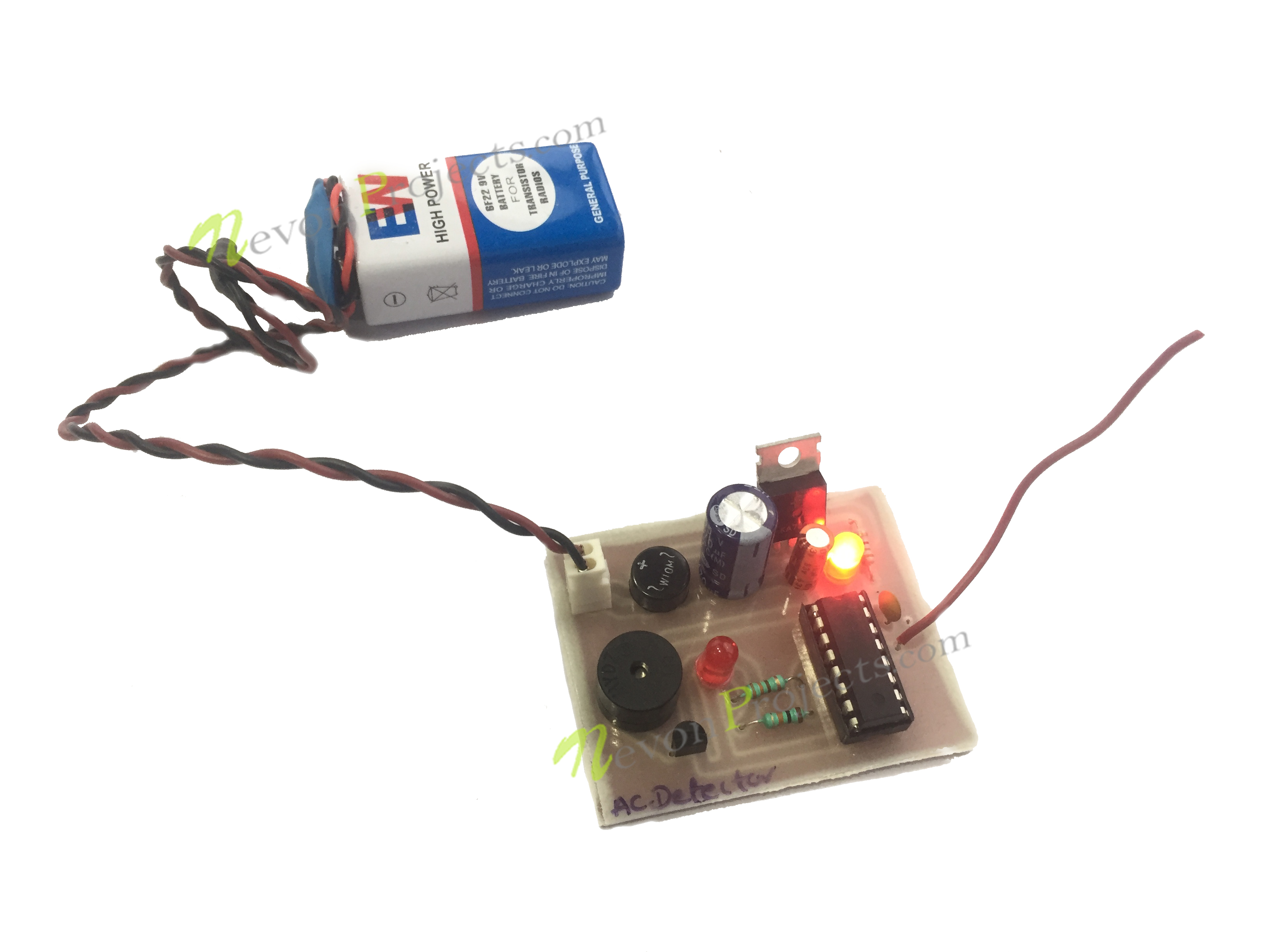 Wireless Ac Power Detector Project Circuit Today Electronics Mini Projects Diagram Ask Home