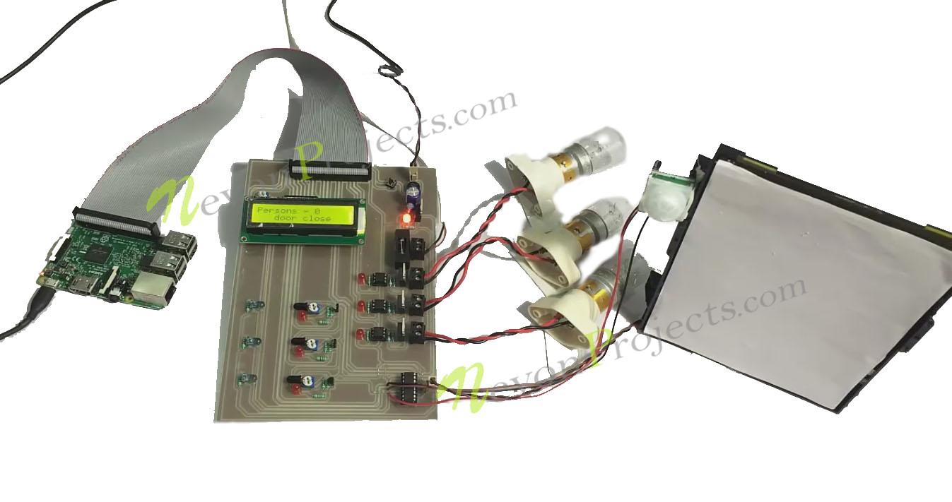 Automated Door Opener Raspberry Pi  sc 1 st  NevonProjects & Automated Door Opener With Lighting Control Using Raspberry Pi ...
