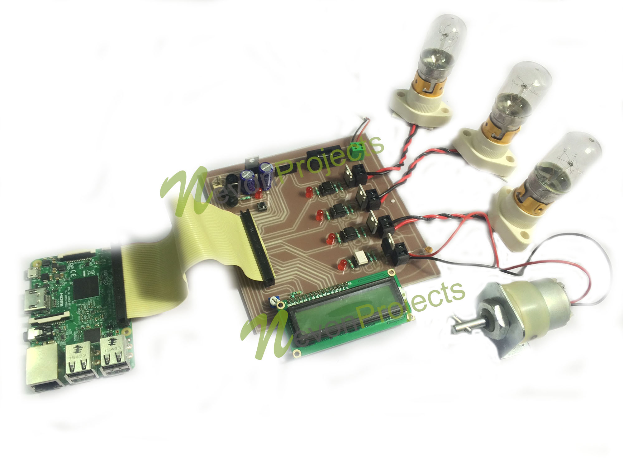 Raspberry Pi Home Automation Project