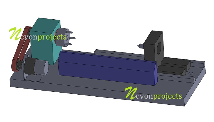 Design fabrication on mini lathe machine nevonprojects block diagram ccuart Image collections
