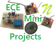 Latest EEE & ECE Mini Projects List 2018 With Circuit