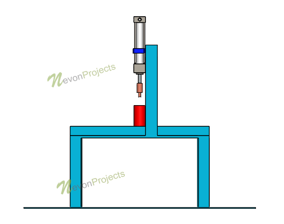 Pneumatic Punching Machine Project