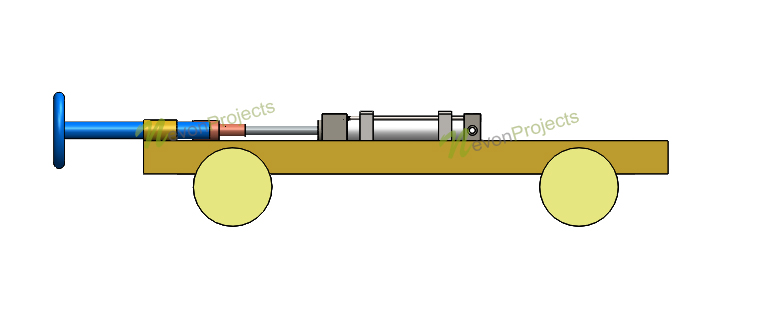 Pneumatic Vehicle Bumper project