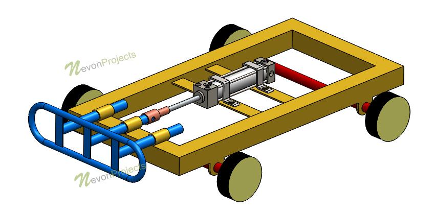 Pneumatic Vehicle Bumper project