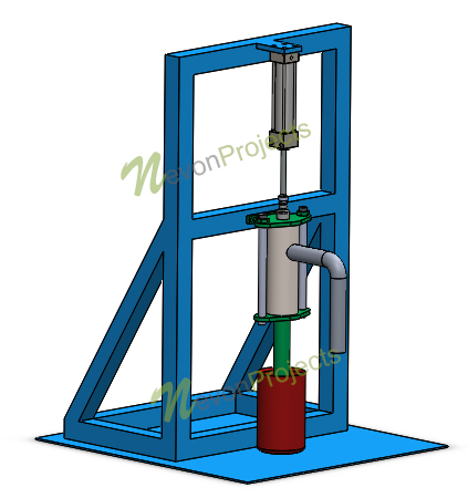 Pneumatic Water Pump