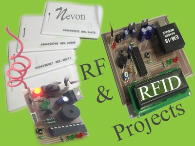 Latest RF & RFID Based Projects List | Nevonprojects