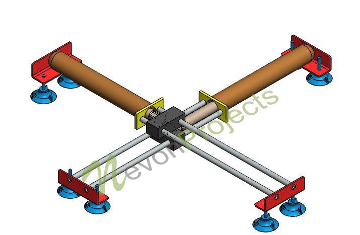 Pneumatic powered wall climbing robot nevonprojects pneumatic powered wall climbing robot ccuart Gallery