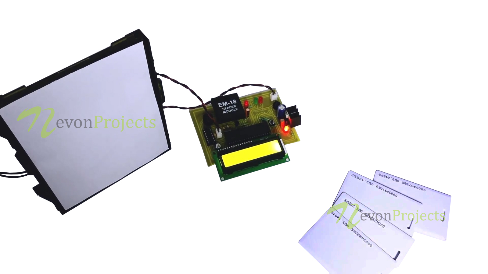 Security Access Control Using RFID Project