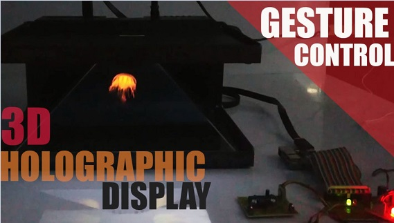 3D Holographic Display System