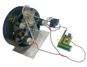 Regenerative Breaking With Power Monitor