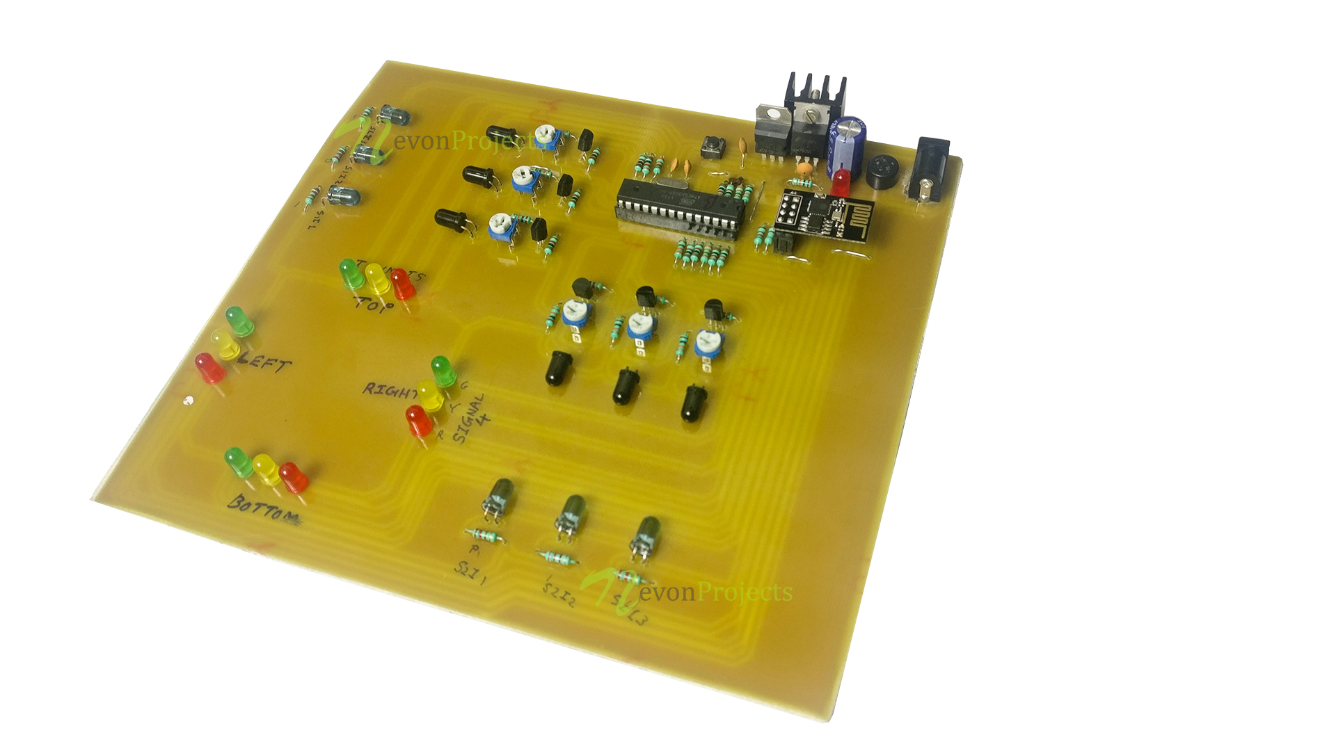 Iot Traffic Signal Monitoring Controller System