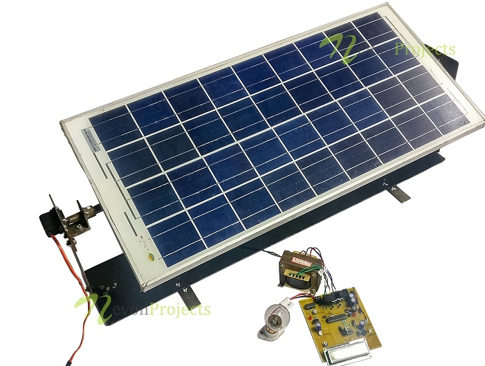 Solar Inverter Project Using Microcontroller 50w