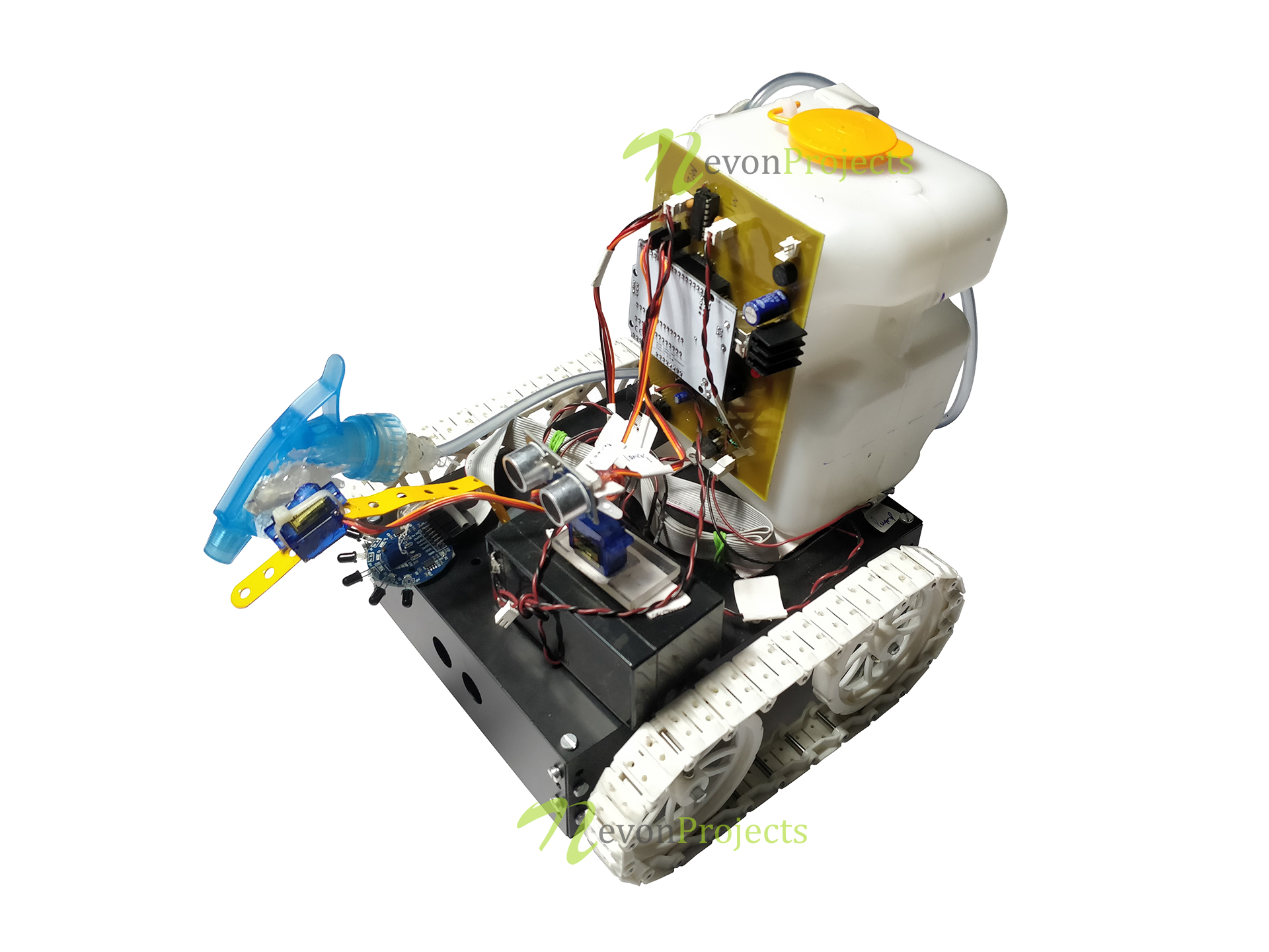 Arduino Based Autonomous Fire Fighting Robot