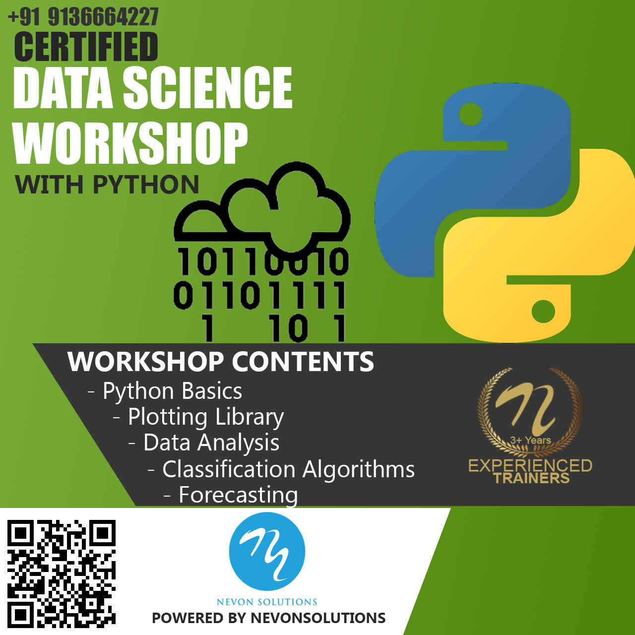 Data Science with Python Course Based Workshop