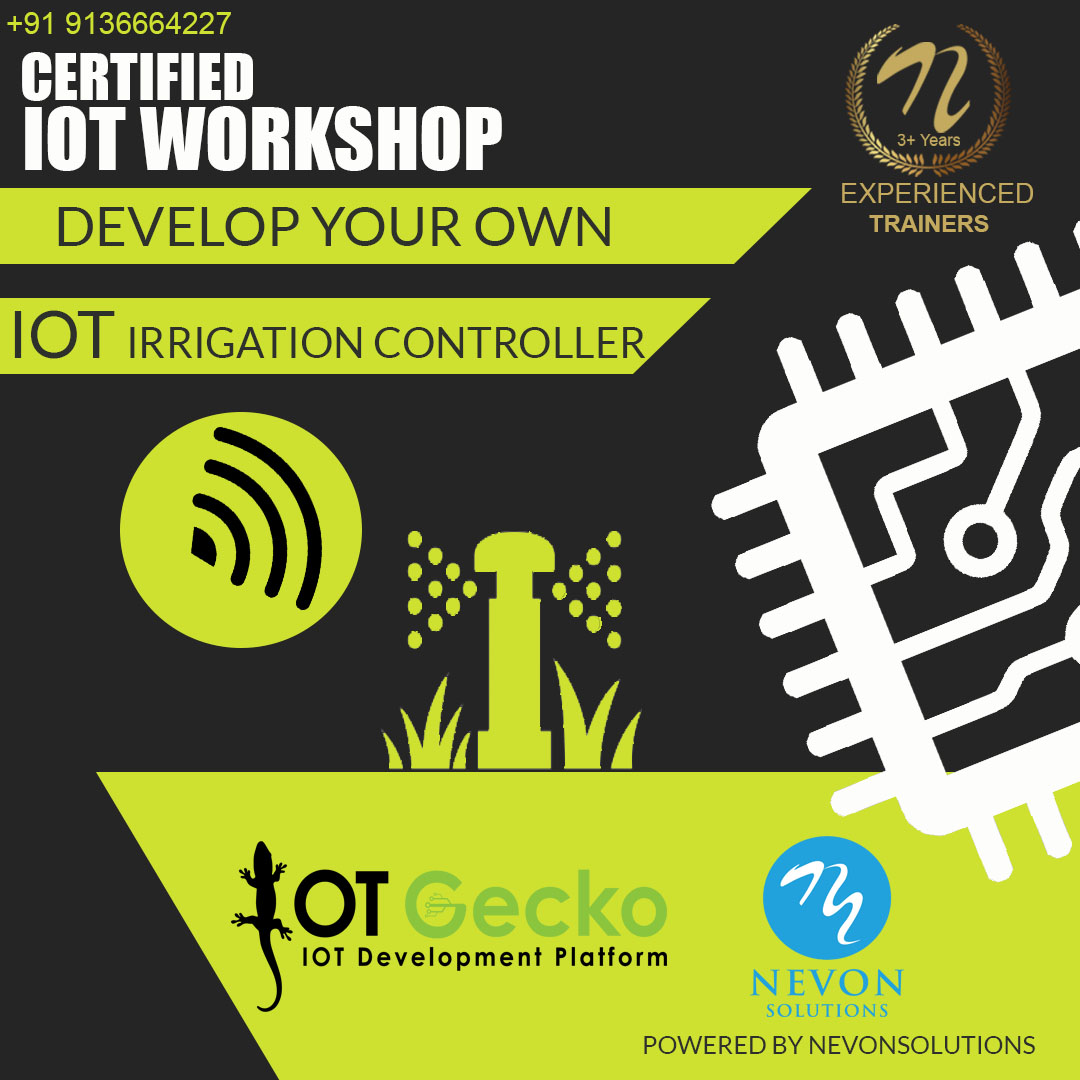 nevon IOT Irrigation System workshop