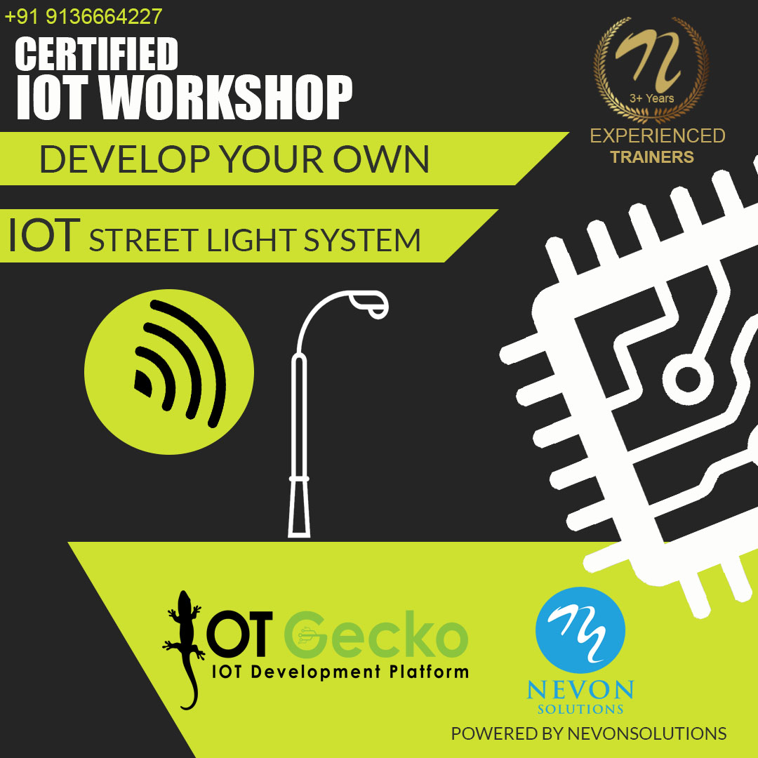 IOT Street Light Project based IOT Workshop