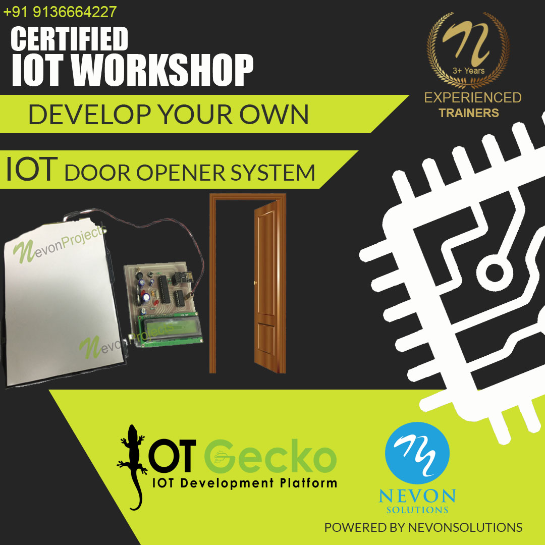 IOT Door Opener System Project based Workshop
