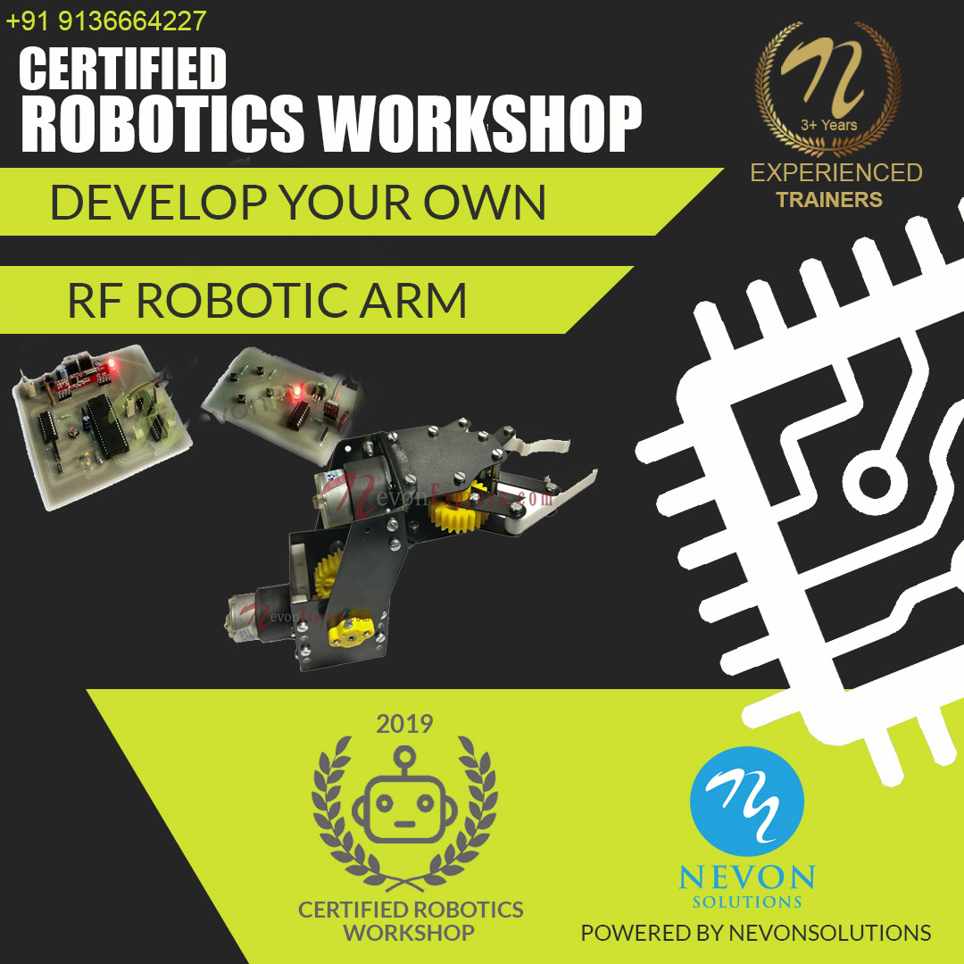 RF Robotic Arm Project Based Workshop