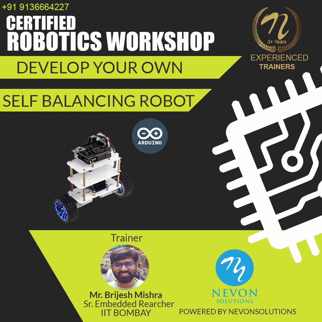 Self Balancing Robot Project Based Workshop