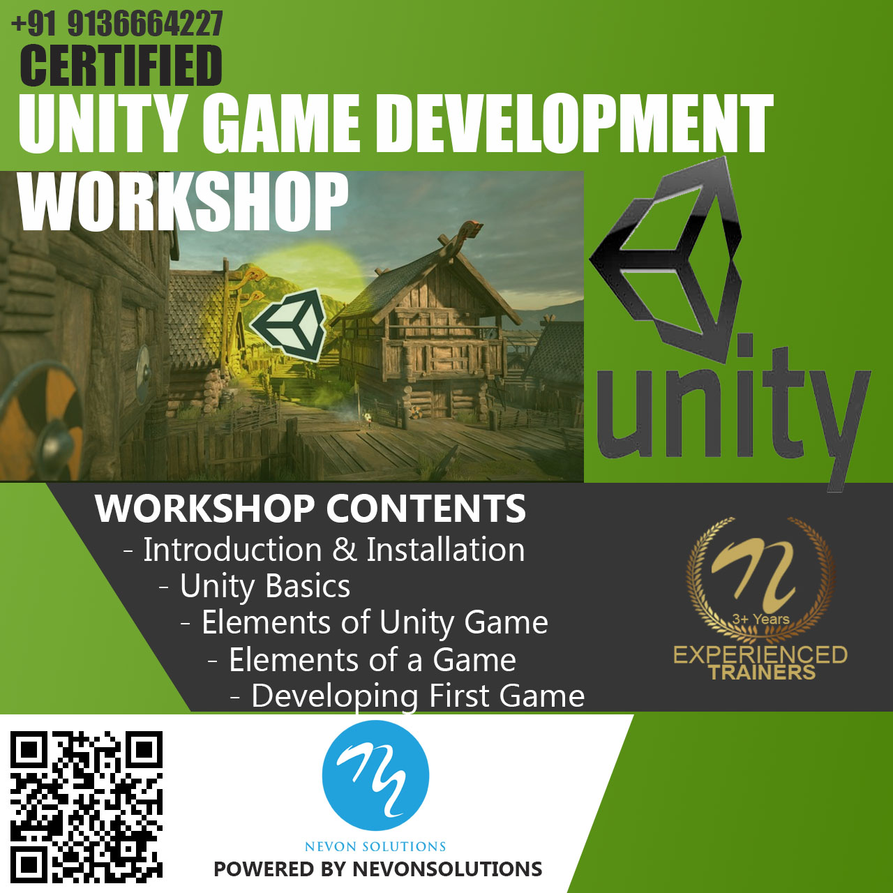 Unity Game Development Course Based Workshop