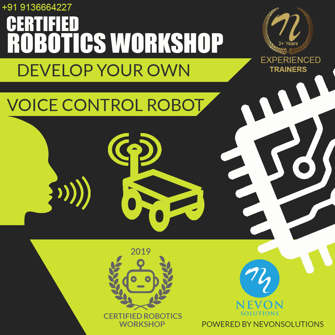 nevon voice control robot workshop