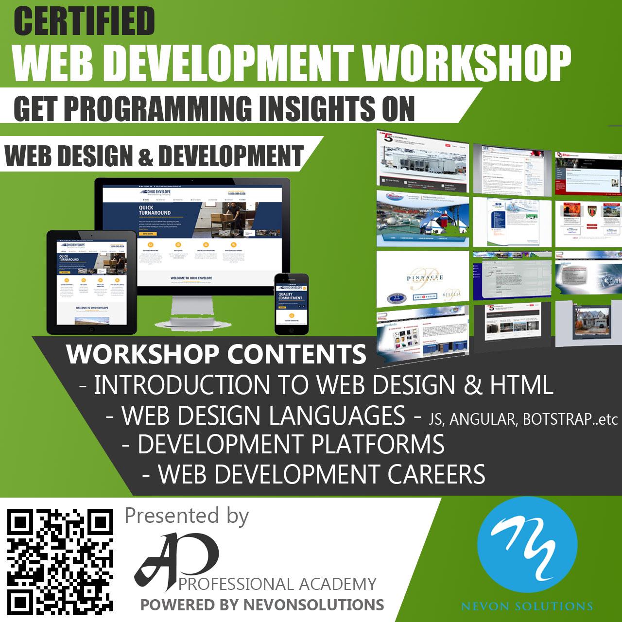 nevon Web development workshop