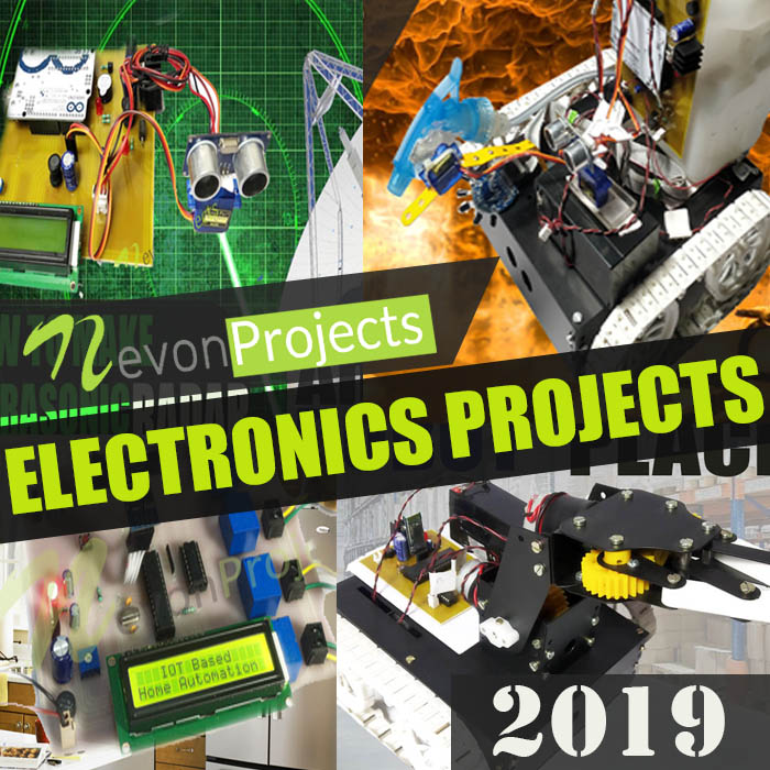 500+ New Electronics Projects Topics Ideas List 2019 FinalYear Beginners