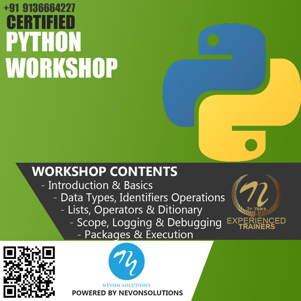 Python Course based Training Workshop