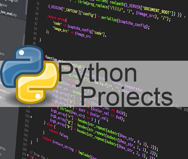 Latest Python Projects 2019 For Students