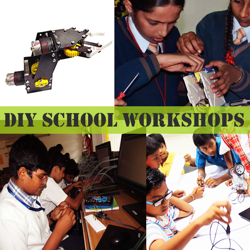 Summer training school electronics workshop
