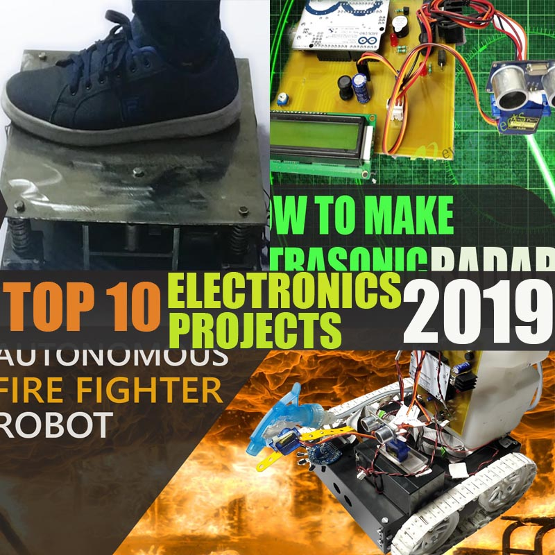 top 10 electronics projects 2019