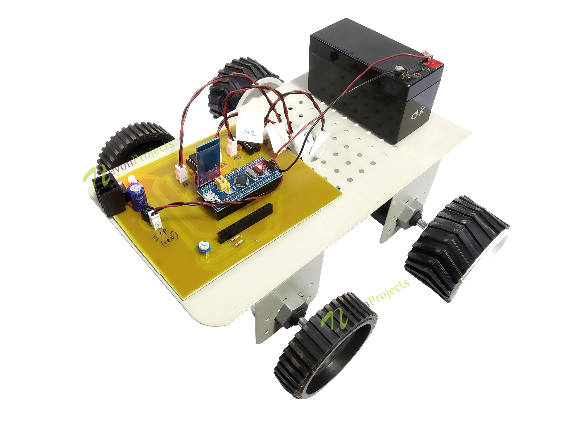 Accurate Speed Control Of Electric Car Using ARM