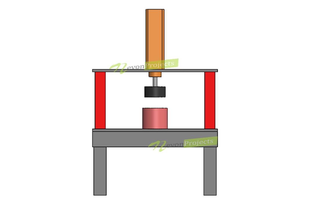 Automatic Pneumatic Hammer Machine Project
