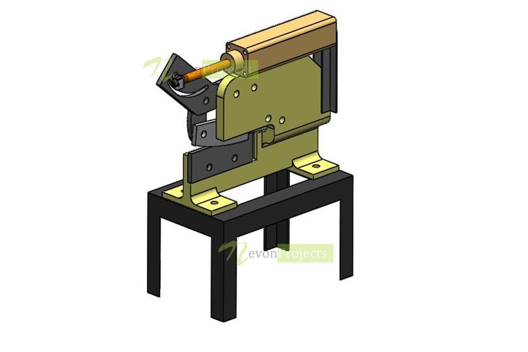 Air Powered Pneumatic Cutting Machine