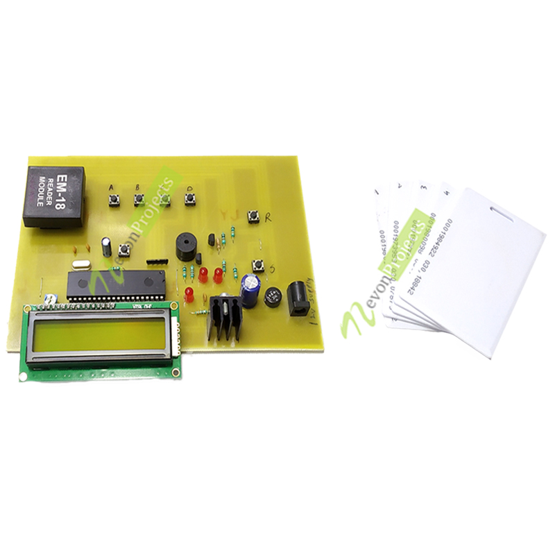 RFID based voting system project