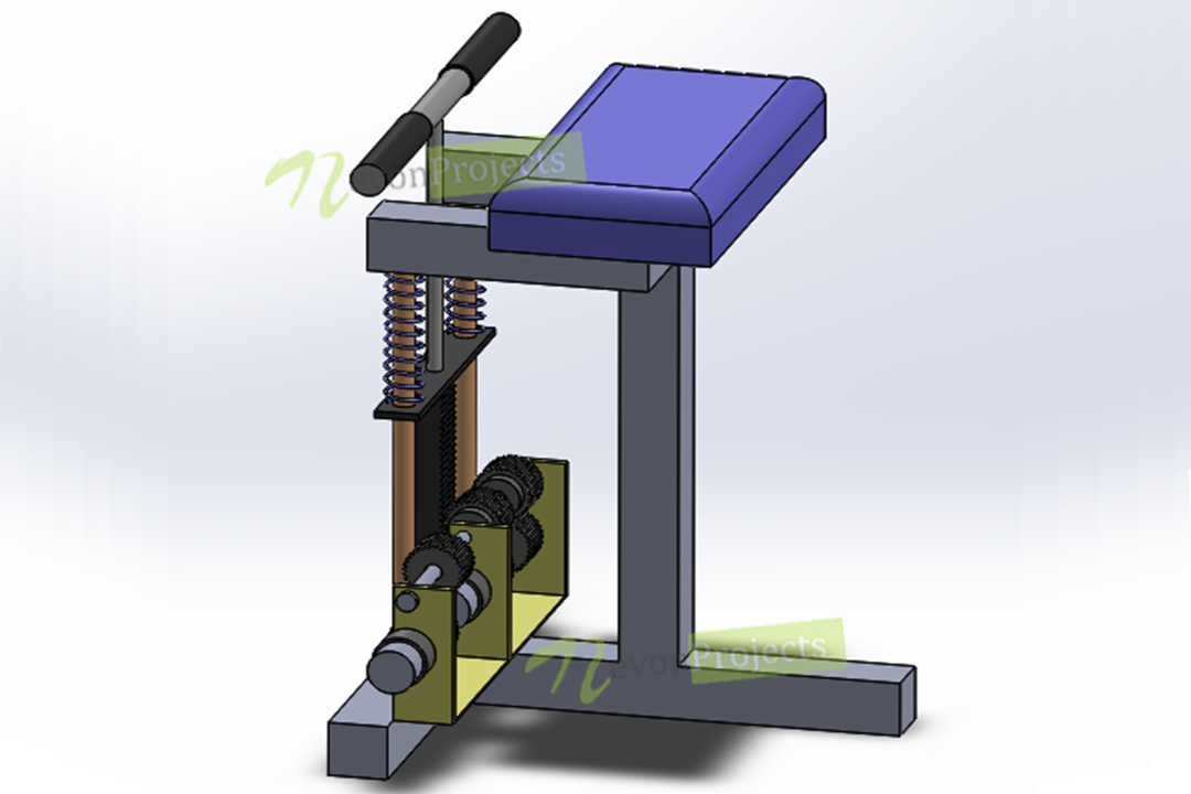 Solidworks Design & Simulation of Power Generator Forearms
