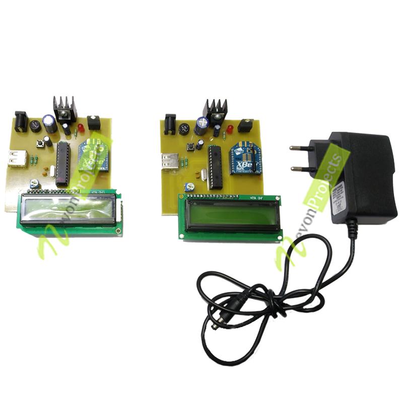 zigbee communication using aes project