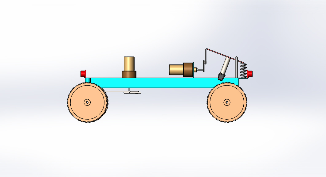 Design and Fabrication of Emergency braking system in Four-Wheeler