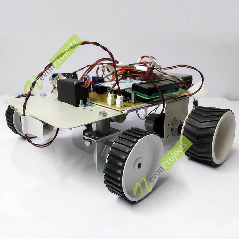 Advanced Automatic Self-Car Parking using Arduino Project