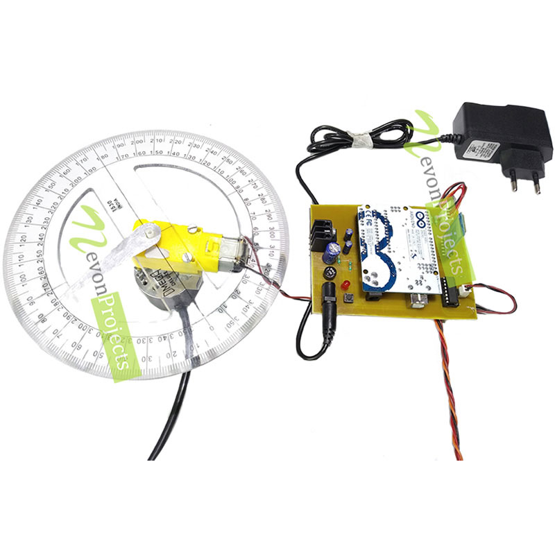 Arduino PID based DC Motor Position Control System