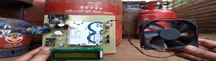 IOT gas leak detector