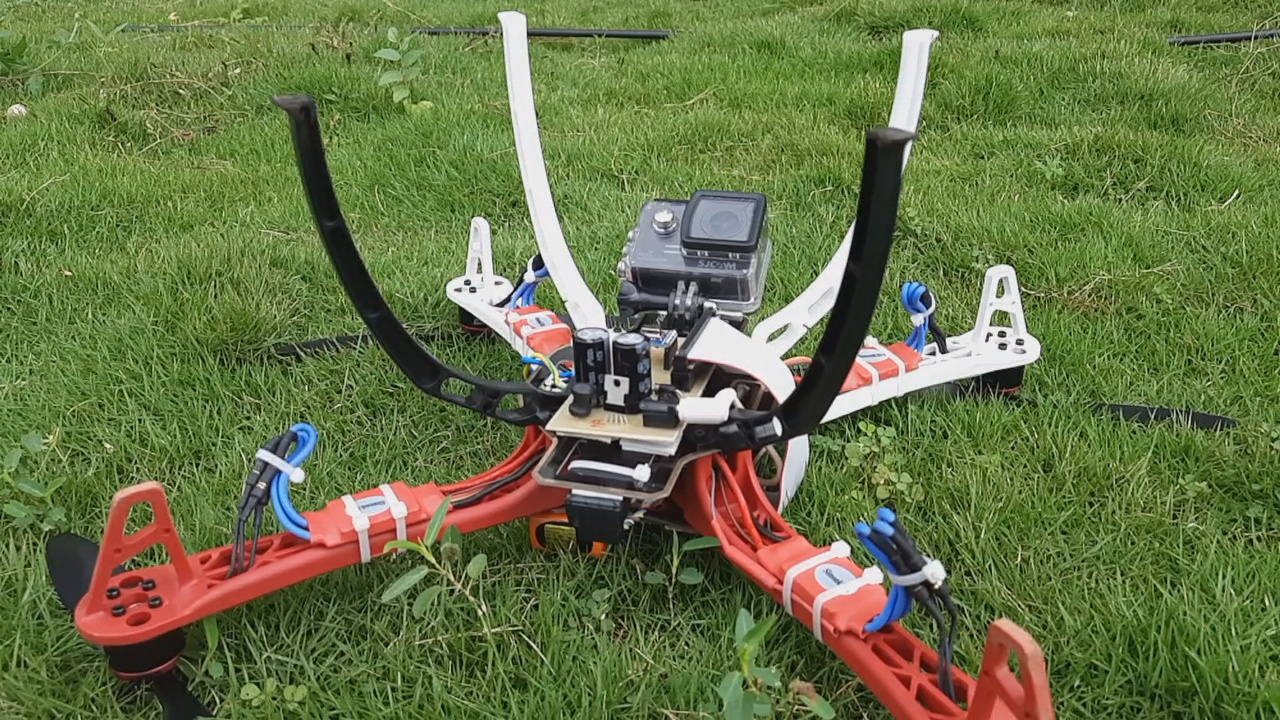 Nevon thermal screening drone