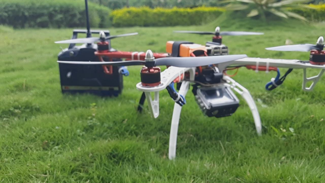 Nevon heat detector drone