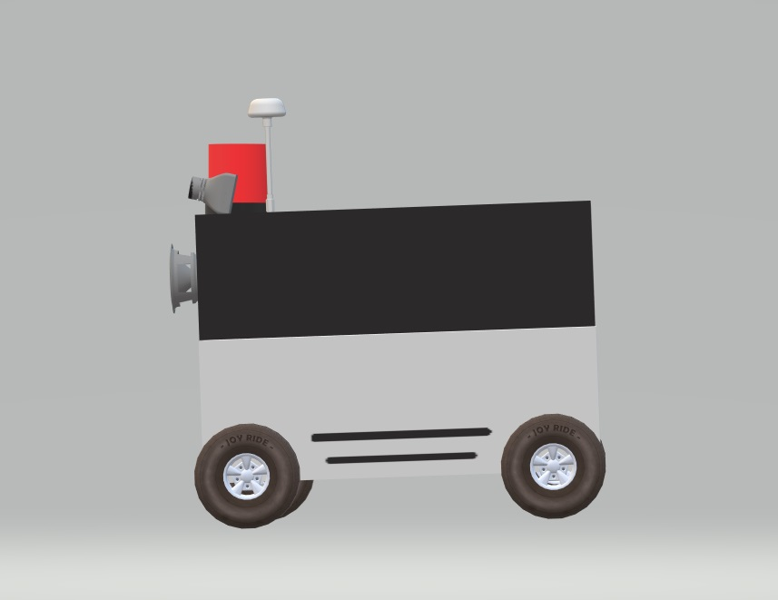 Ecommerce courier robot