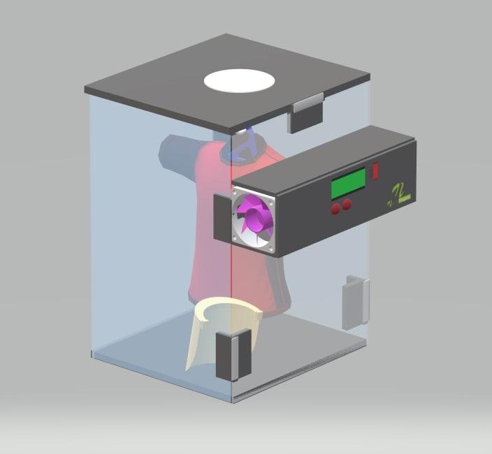 Portable PPE kit sterilizer