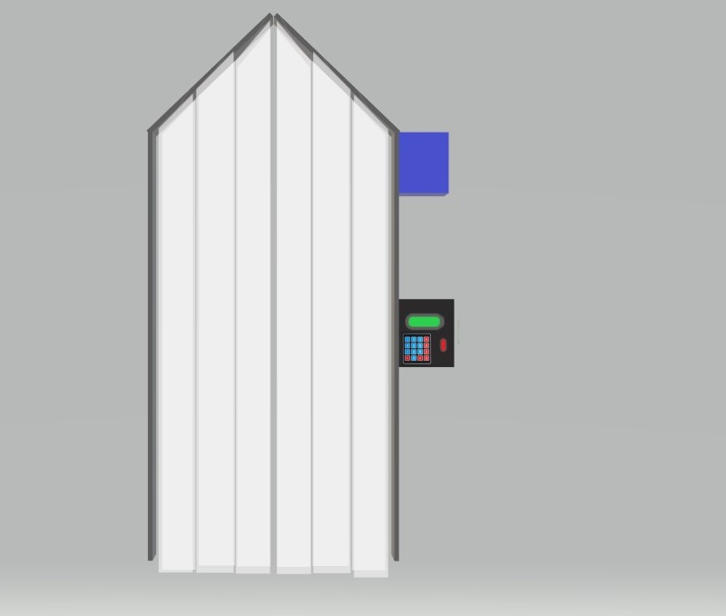 Human Sanitizer tunnel
