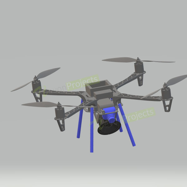 Social distancing drone