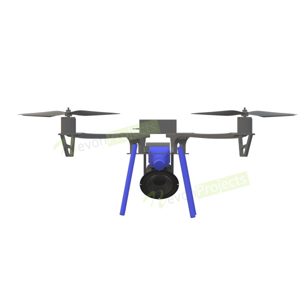Mask detector drone