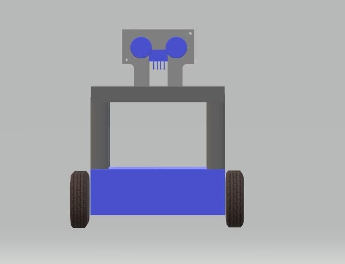 Social distancing robot